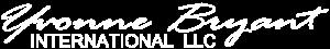 Yvonne Bryant International - white logo